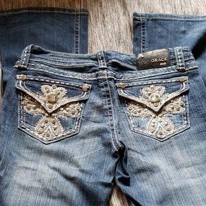 Embellished Grace jeans